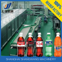 Automatic PET Bottle Cartonated Beverage Production Line , Carbonated Beverage Filling Equipment