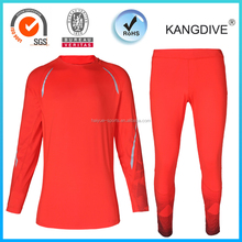 Lycra Rush Guard sets water sports wear Rush guard