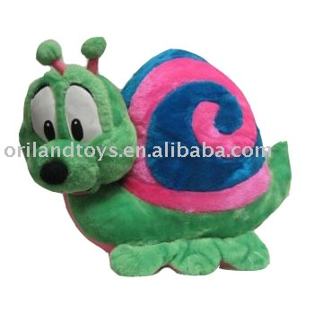 Custom Design Top Quality Snail Plush Toy