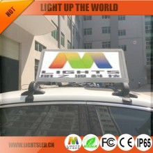 Waterproof Hot Ultra Light P4 Outdoor Double Sided Led Sign Taxi Top LED Screen From China Manufacturer