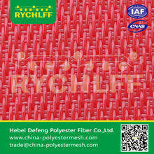 Red Flat Polyester Dryer Fabrics