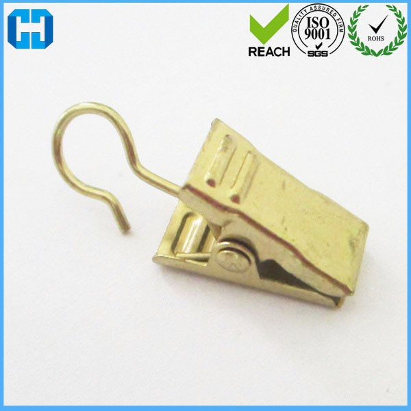 Factory Custom Rod Curtain Clips With Hook Home Decoration