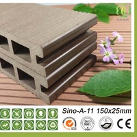 wpc outdoor flooring/waterproof wood plastic panels without additional staining or painting