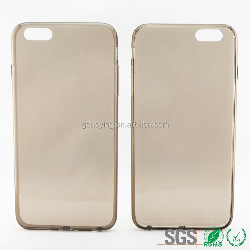 Thin Transparent Gel TPU Silicone Back Case Cover for iphone 6