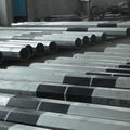 steel galvanized metalic pole