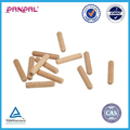Wholesale Furniture Cabinet Drawer Round Threaded Wooden Dowel Pins