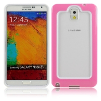 New TPU+PC double color frame protective case for samsung galaxy note 3