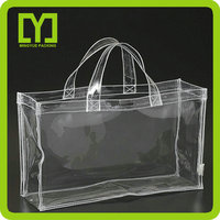 2016 new product pvc packing clear plastic custom pvc wine cooler bag