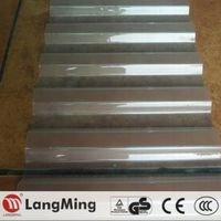 customized shape transparent roofing tile 4x8 polycarbonate corrugated plastic sheet