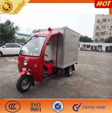 4-Stroke Engine Type and 150 Displacement 3 wheel motorcycle /closed body cargo tricycle