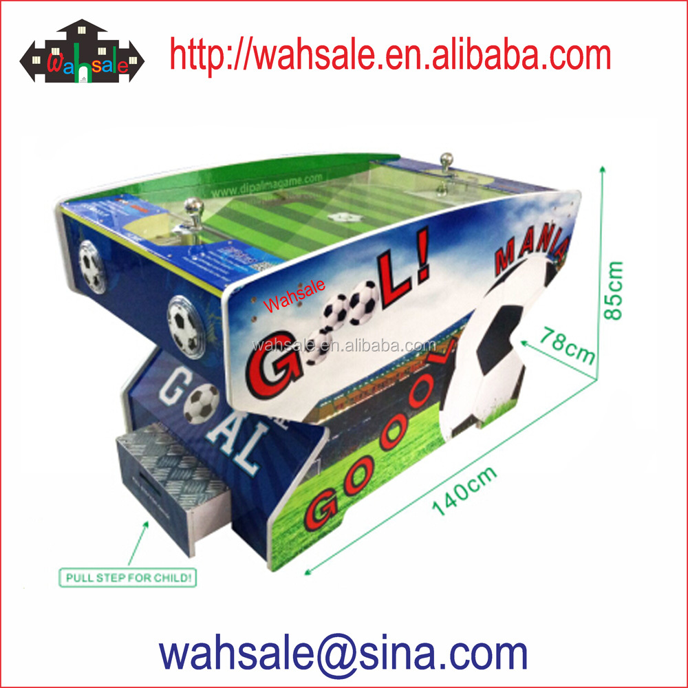 Wahsale arcade coin operated football table game machine