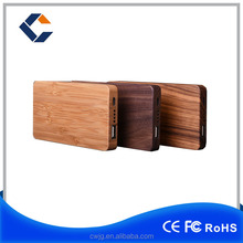 Cheap smartphone wooden power bank 5000mah , smart power bank for mobile phone