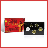 new package of Rectangle Transparent Plastic capsule For 50*28 coins