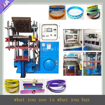 2017 latest technology !Good quality silicone wristband molding machine for sale
