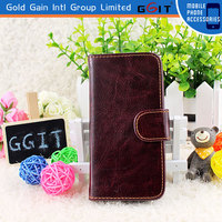 Hot Sell Style Leather Cell Phone Case For iPhone 5 Flip Leather Cover Cases
