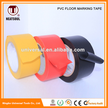 New Design Low Price high adhesive pvc floor marking tape or warning tape
