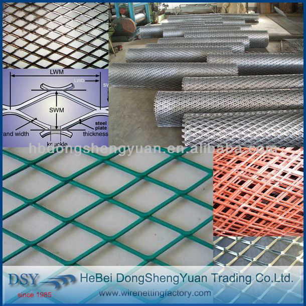 alibaba gold supplier low carbon expanded mesh wire mesh fencing