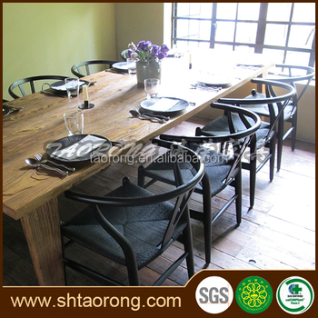 Modern design high level restaurant dining table and chair RS-003