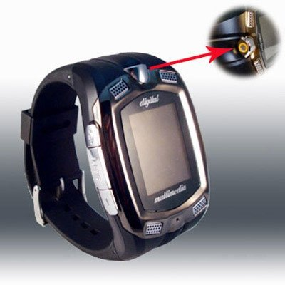 M801 Watch Mobile Phone Tri-Band Camera Bluetooth Cell Phone