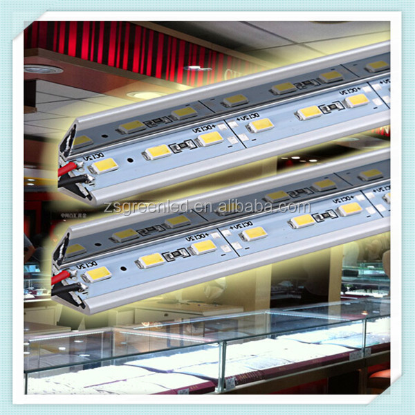 New DC12V rigid led strip /led rigid strip light / 5630 2835 5050 rigid led bar 60leds/<strong>m</strong>