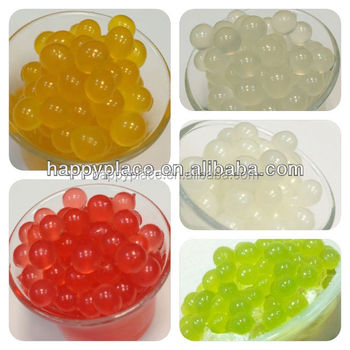 Fruit juice ball popping boba,popping balls for bubble tea drink