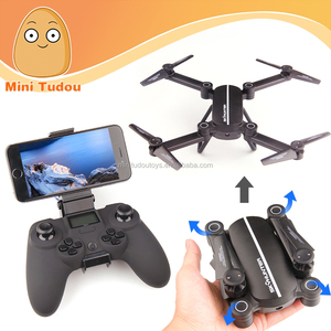 foldable drone 2017 new product 2.4g 4ch rc dron with wifi fpv camera VS DJI mavic pro combo