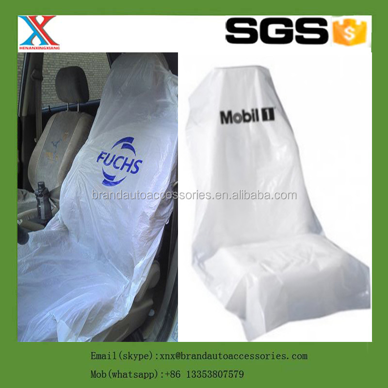 HDPE LDPE Disposable Plastic PE Car Auto Seat Cover