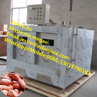 Commercial gas nut roasting machine for sunflower seeds