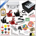 Top quality 4 gun complete tattoo kit
