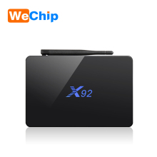 LED X92 2GB 16GB Android 6.0 Smart TV Box Amlogic S912 OCTA Core CPU Kodi 16.1 IPTV box 2.4G/5GHz Wifi 4K H.265 Set Top Box