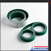 High fexibility hot selling high technology pu timing belt with pvc grip