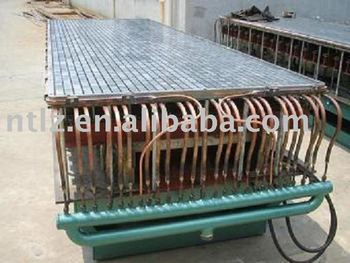 Grating mold for producing FRP grating