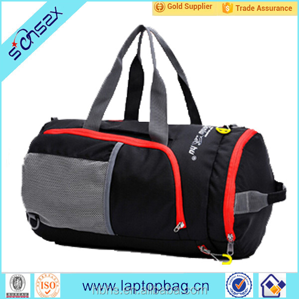 Wholesale Rolling Waterproof 420D Nylon Polyester Plain Travel Duffel Bag