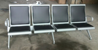 Airport waiting steel cushion chair(YD-GK104P)