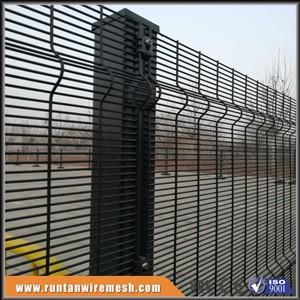 high security 358 weldmesh 3d fence systems