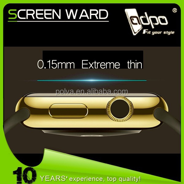 No bubble tempered glass screen protector for watch