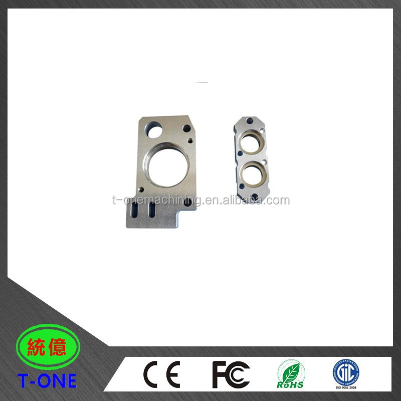 Professional cnc milled parts raw aluminum machining block - aluminum prototype parts service