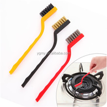 Copper Iron And Nylon Bristles Material Brush Gas Burner Kitchen Boiler Cleaning Brush