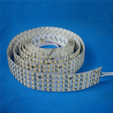 5 lines 24V 360 leds/m strip light warm white/pure white led light strip 3528 led flexible strip light