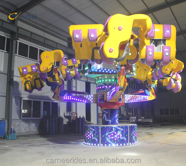 theme park top fun Energy Storm Orbiter amusement fairground rides for sale