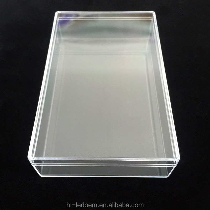 New Design Unique Sought-after Lovely Transparent Small Clear Square Plastic Storage <strong>Box</strong> With Lid