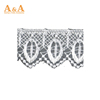 2019 most popular african embroidery organza lace fabric from China famous supplier