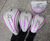 Lady cheap custom golf club head cover set