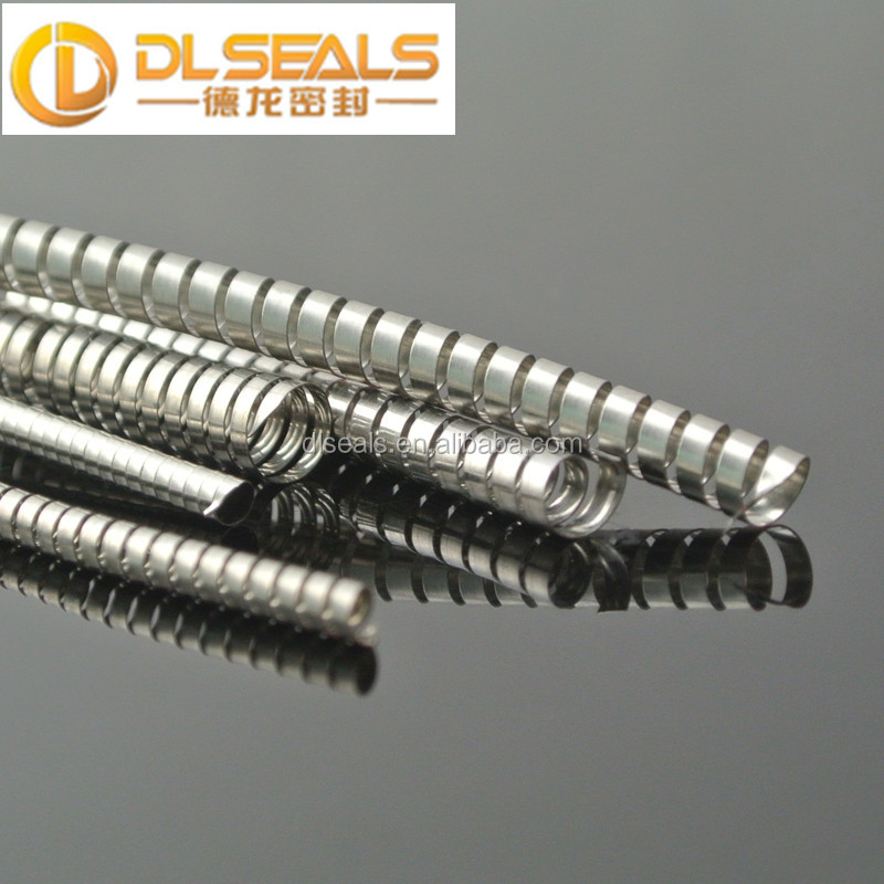 DLseals factory Stainless steel 304 canted coil spring for seals