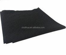 good quality 100% viscose cotton spunlaced disposable black hair salon towel