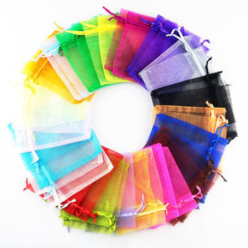 organza gift bag pouch  in different size and many color in stock .