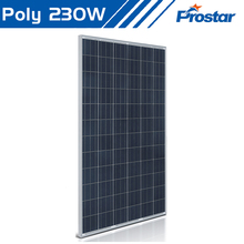 Prostar 230w polycrystalline silicon solar panel with 1wp