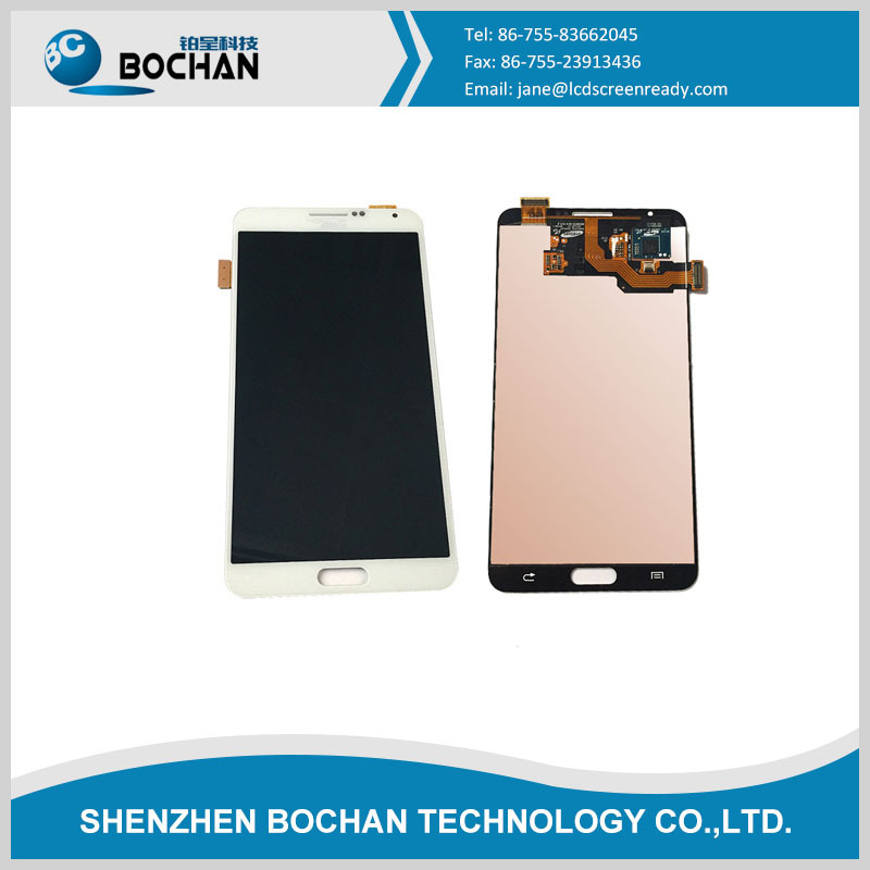 Wholesale display LCD touch screen for Samsung galaxy note 3 White black