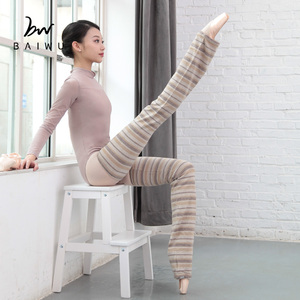117146020 High Quality Ballet Striola Long Dance Leg Warmers