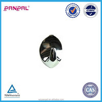 china supplier chrome plated oval head self adhesive hook